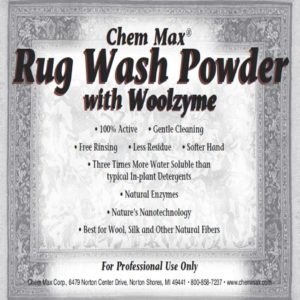 Rug Wash Powder with Woolzyme